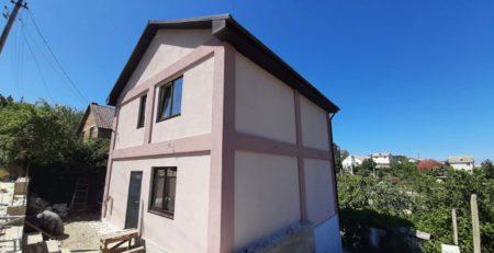 Фасад №65 розовый дом