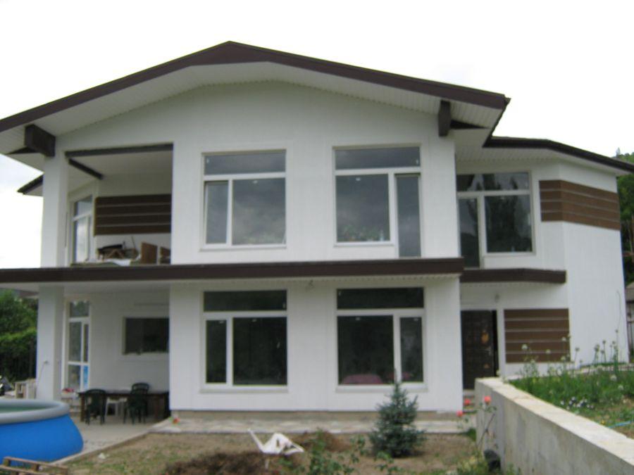 Утепление фасада без архитектуры