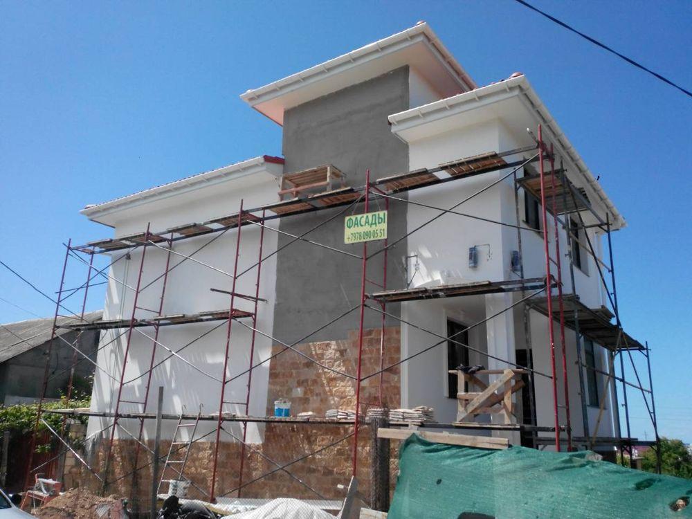 Утепление фасадов в Севастополе реставрация и переделка брака под ключ