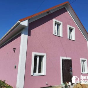 Утепление дома пенопластом с самодельным архитектурным декором
