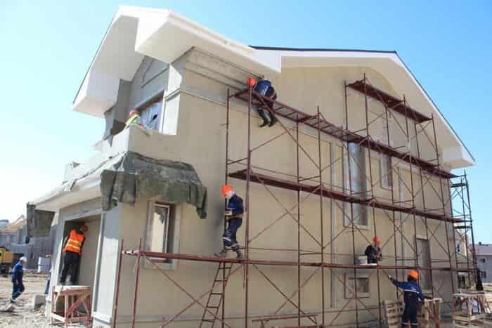 Бригада фасадчиков в Севастополе